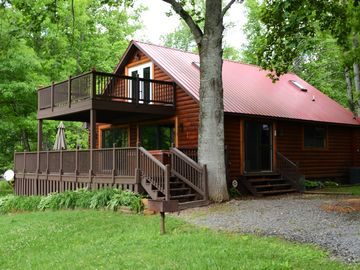 Lake Nantahala cabin rental - Welcome to Waters Edge Cabin