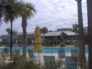 Isle of Palms condo photo - Heated Lap Pool