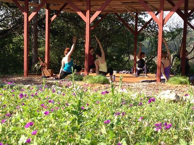 Spicewood cottage rental - Join us for Saturday Community Yoga Classes, Private Yoga, & Retreats!