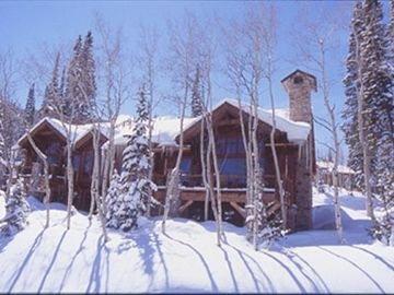 Deer Valley townhome rental - Front of Larkspur ski in ski out home at Deer Valley's new Empire Pass village