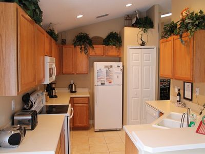 Orange Tree villa rental - Fully equipped kitchen