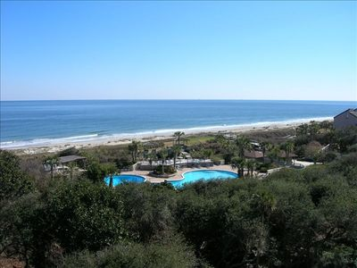 Amelia Island condo rental - RIGHT OCEAN VIEW FROM BALCONY OF CONDO