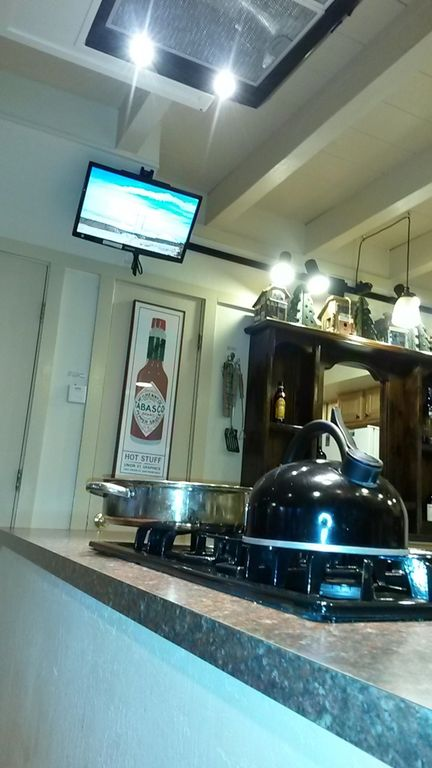 TV for the cook!
