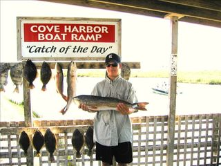 Rockport house photo - Channelview guest results from fishing in Aransas