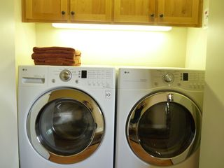 Eagle Crest house photo - Laundry for the Active Guests. Laundry Detergent Soap, Iron and Hair Dryer Inc.