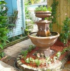 New Orleans house photo - Fountain