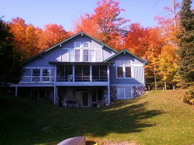 Eagle River, Nicolet National Forest Lake Home In Private Bay