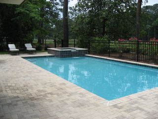 Sea Pines house photo - Pool and Spa