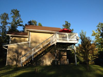 This is the Bungalow... upstairs over the barn! It is an optional rental space