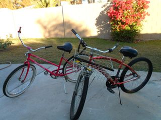 Phoenix house photo - nice cruiser bikes with basket and lock, also have 2 pair of new roller skates!