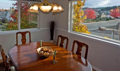 Separate Dining room with space for 8.