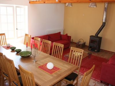 Lorgues house rental - 5 Bed house only - larger living room