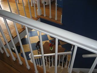 Kennebunkport house photo - Staircase between first and second floors