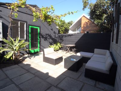 Venice Beach bungalow rental - 400 SF private garden.