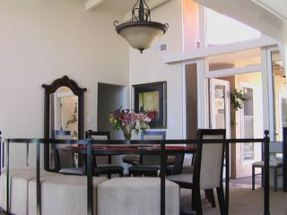 San Diego house photo - Dining Room w 20 Foot Cielings and Grand Entry