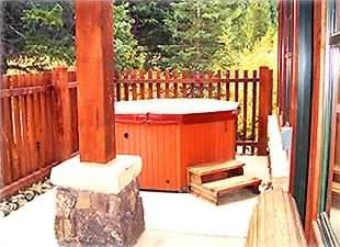 Your own private hot tub awaits!