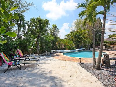 Fort Myers house rental - spend your day by the pool