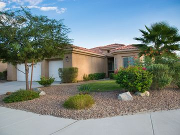 Thousand Palms house rental - A beautifully landscaped desert oasis