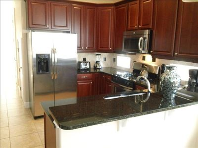Fully equipped kitchen with all brand new, Maytag, stainless steel appliance