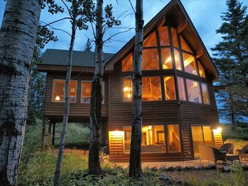 Lutsen house rental - Timberframe home living at its finest!