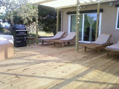 Brand New 20'x 22' Deck and Hot Tub installed November 2011!