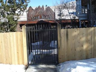 Snow Blaze condo photo - Gated entrance to Snow Blaze from Park City Mountain Resort