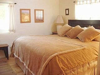Taos house photo - You'll sleep well in this massive king bed