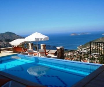 Deluxe Accomodation in Kalkan - Villa Sencer