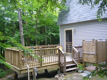 Deck and Outdoor Shower