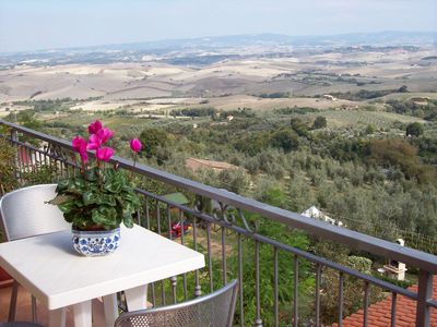 VIEWS OF THE HILLS AND VOLTERRA LAJATICO
