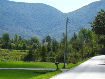 Bike, walk, or Hike up beautiful Country Mountain road