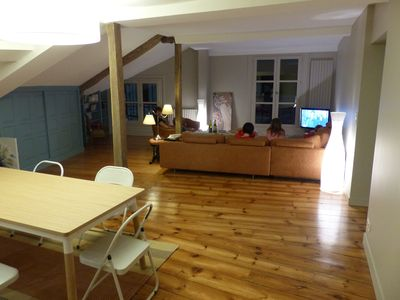 Apartment in 16th building, 160m2, renovated 2015 beach 30m