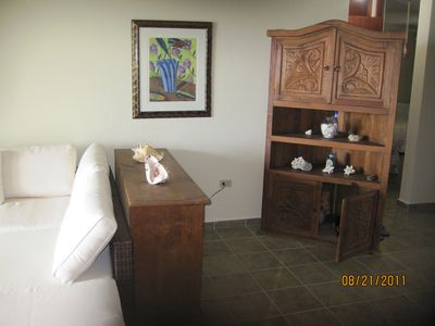 Luquillo apartment rental - Right Side Living Room