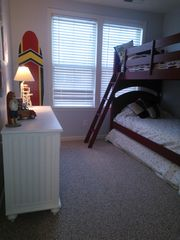 Sunset Island Ocean City townhome photo - Surf Room- 3 Twin Beds