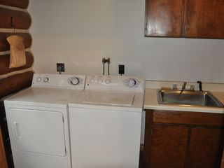 Piseco Lake lodge photo - Fully Outfitted Laundry Room.