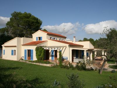 Country house in an attractive style near the village Montuiri
