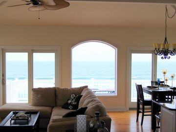 View From Living Room at Beach House in LBI for Rent