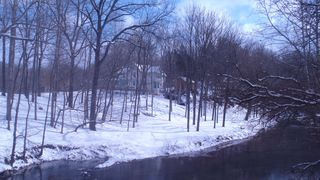Wytheville farmhouse photo - The Glade in Winter