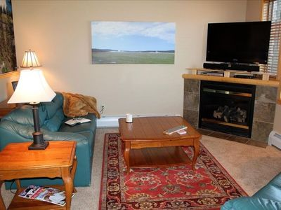 Big Sky townhome rental - Living Room