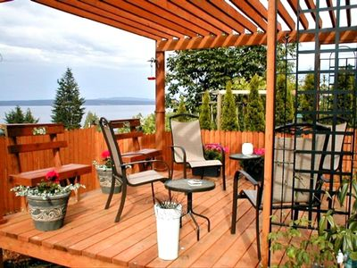 Private Ocean-View Deck and Garden