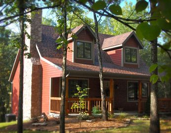 Branson house rental - Woodsong Cottage - Private home in the woods