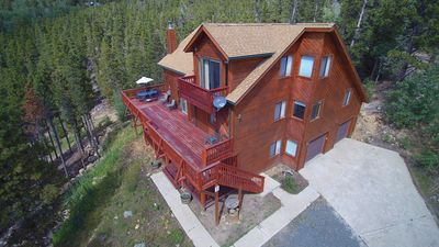 Coyote Cabin Three Levels of Comfort, Privacy and Rocky Mountain Views