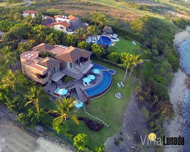 Villa Lunda from the sky
