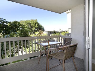 Oceanside condo rental - You Have Views of the Harbor, Ocean, and Gardens