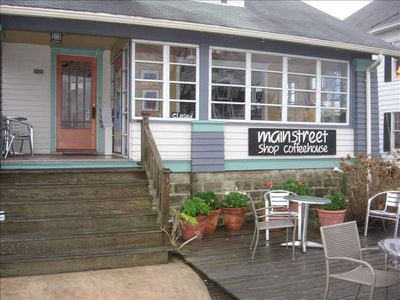 Chincoteague Island house rental - Main Street Coffee House-1 blk from Cottage--Great Latte's!