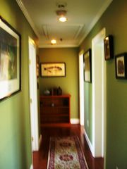 Montauk house photo - Upstairs Hallway To Bedrooms, Bathroom, and Laundry Room