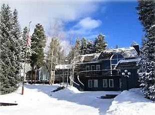 Front House in Winter  Breckenridge vacation rental luxury