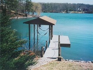 Moneta house photo - Private Dock