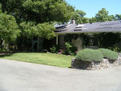 Sonoma house rental - Welcome the Barken Dog Ranch located in the Diamon A Estates.