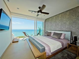 Puerto Vallarta condo photo - Nice decor in bedroom, day view